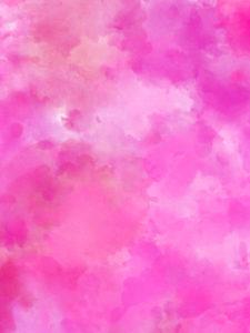水彩風のピンクの待ち受け、背景