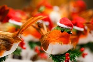 連絡がくるクリスマスの小鳥の待ち受け