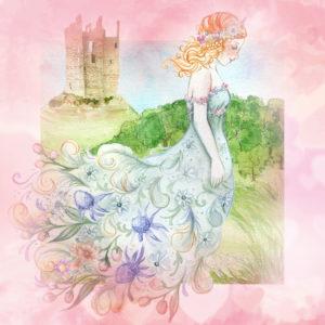 プリンセスのお出かけで恋が叶う、結婚できる待ち受け、ラインの背景