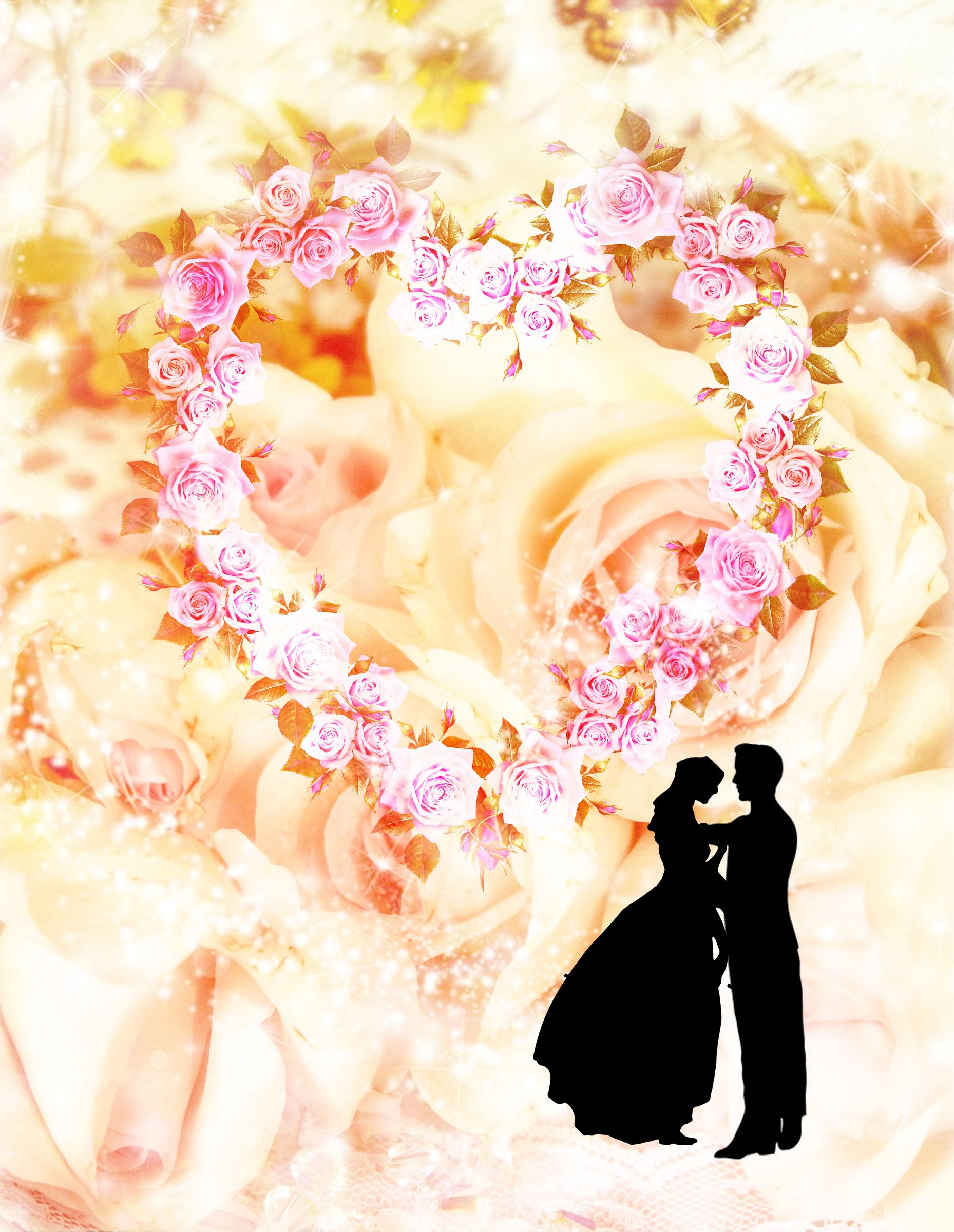 ピンクのシンデレラ城の復縁恋愛運アップ恋が叶う待ち受け画像背景