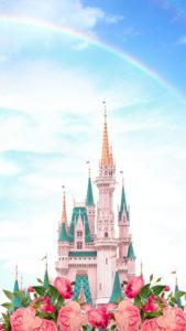 虹のシンデレラ城の復縁・恋愛運アップ、恋が叶う画像