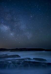 海と天の川の待ち受け画像で復縁!