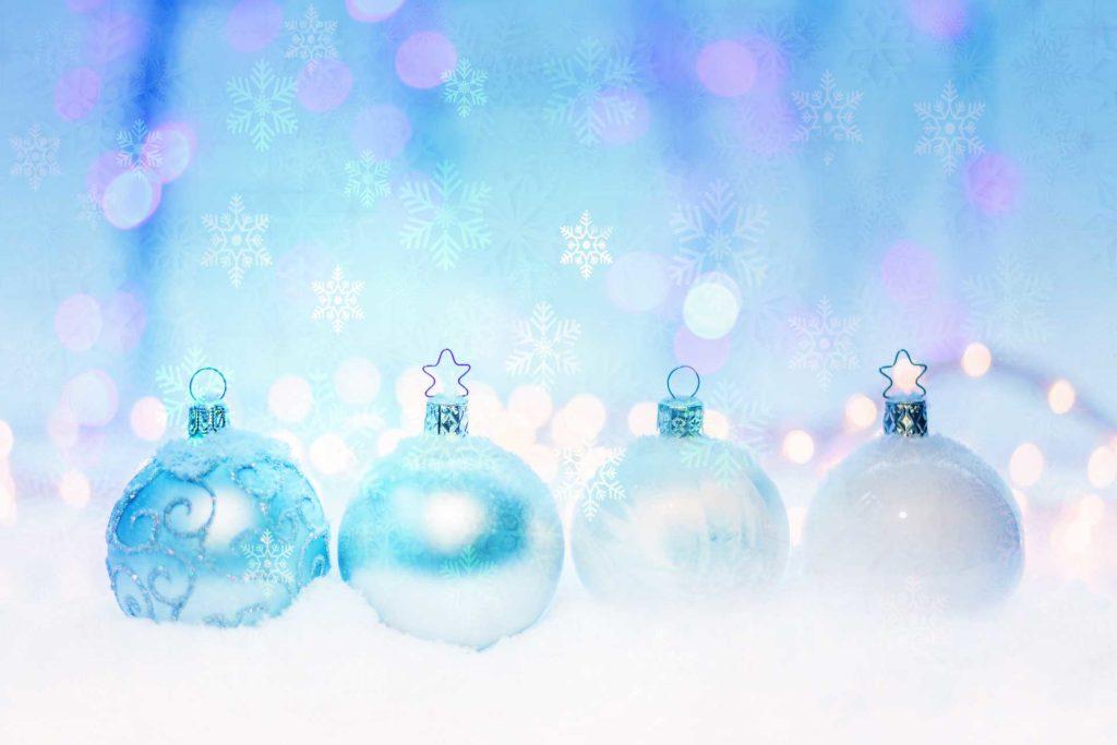 クリスマスの恋が叶う待ち受け画像(スマホ、携帯)