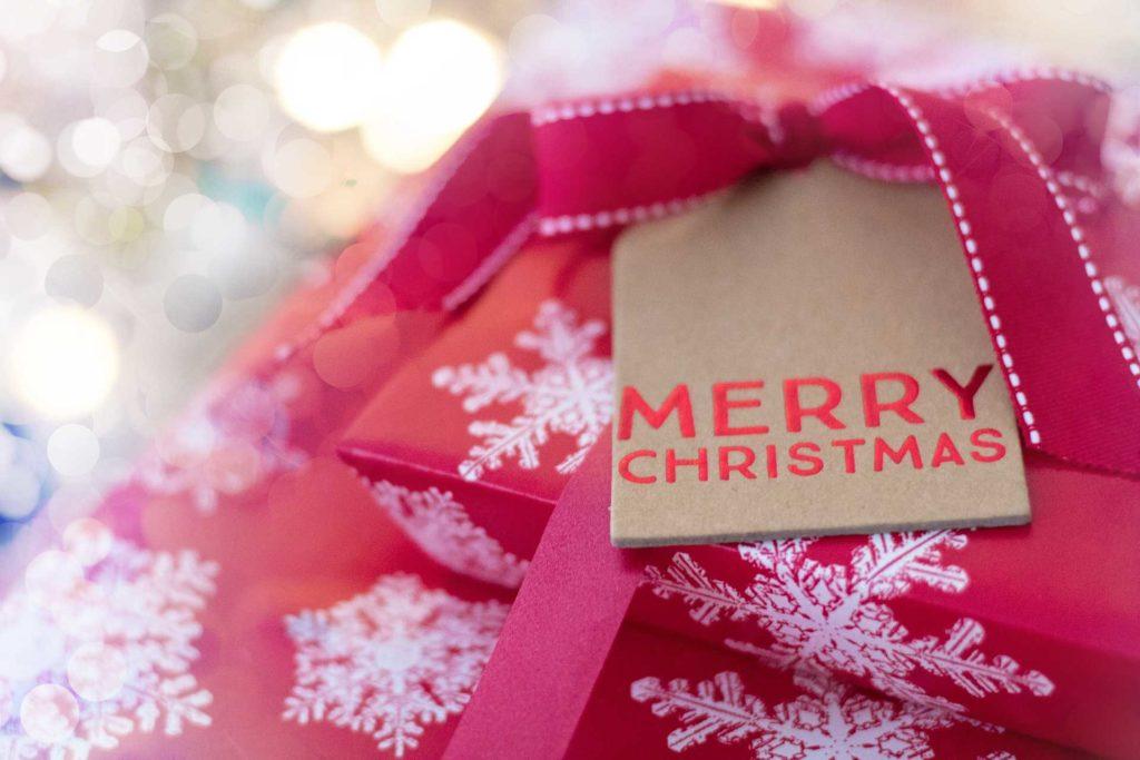 クリスマスプレゼントで、素敵なクリスマスが過ごせる待ち受け