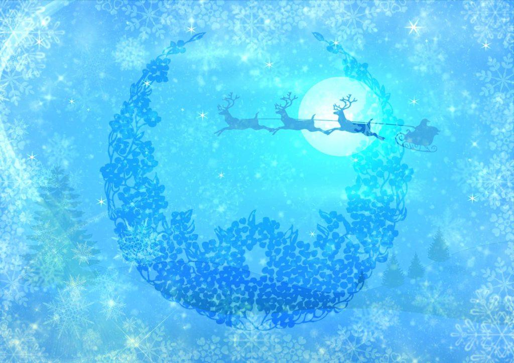 クリスマスリースで復縁できる待ち受け