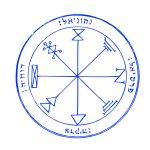 金運、仕事運アップ!強力な待受、背景:ソロモンの木星の護符