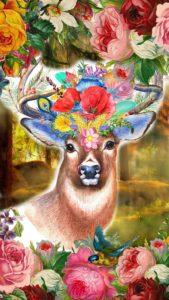 片思いが叶う、彼好きって言われる鹿の待ち受け
