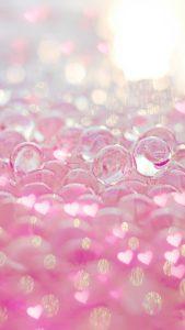全ての願いが叶う恋愛運が爆上がりのピンクのキラキラ待ち受け