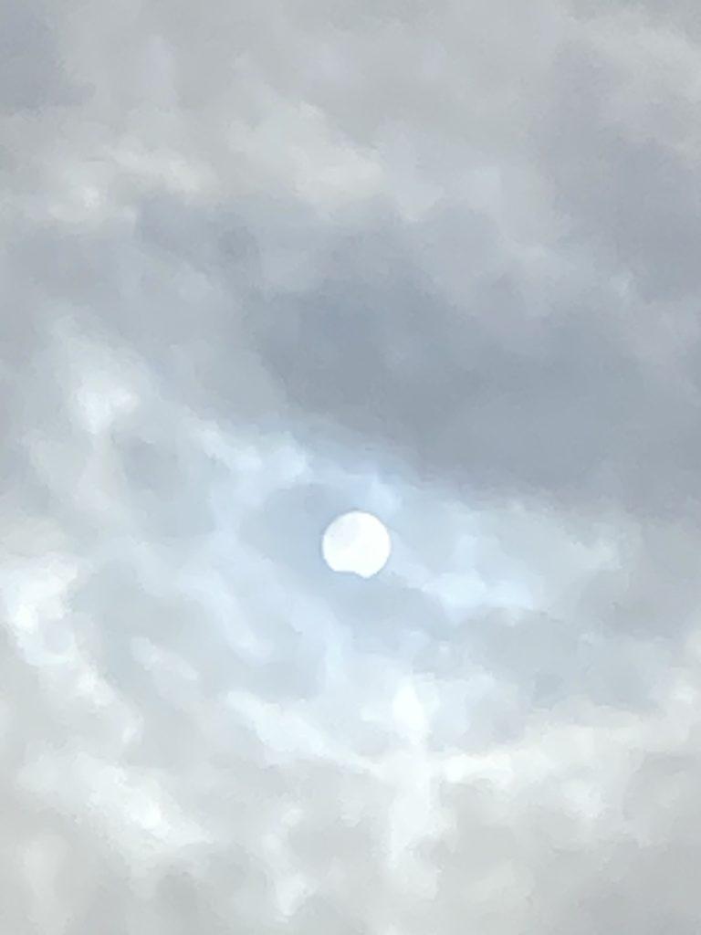 2020年6月20日16時20分部分日食