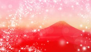 ついてる人は必ずしてる、運気最強、開運待ち受け、赤富士の待ち受け