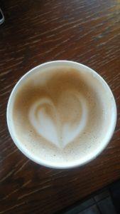 スタバのハートコーヒーで連絡が来た、彼と仲良くなった待ち受け、ラインの背景画像