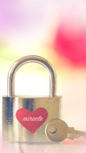 好きな人に好かれるライン背景、ずっと愛が続く、ハートの鍵