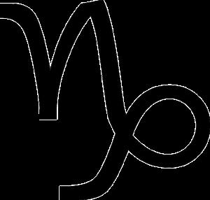 山羊座(誕生日12月22日〜1月19日)のマーク