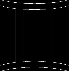 双子座(誕生日5月21日~6月21日)のマーク