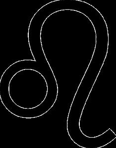 獅子座(誕生日7月23日~8月22日)のマーク