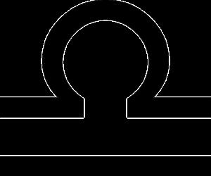 天秤座(誕生日9月23日~10月23日)のマーク