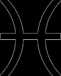 魚座(誕生日2月19日~3月20日)のマーク