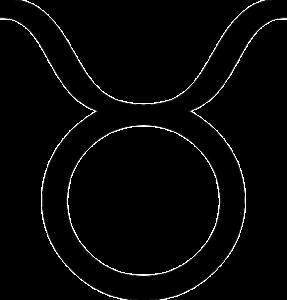牡牛座(誕生日4月20日~5月20日)のマーク