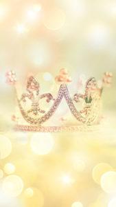 ひかる王冠でくじ運が上がる、くじ運をあげる待ち受け