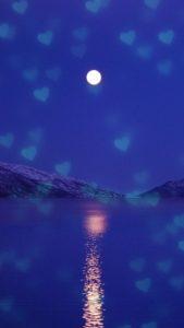 願いが叶う、運気が上がる満月の待ち受け画像