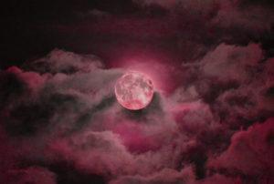【ストロベリームーン、ピンクムーン、スーパームーン】満月で願いが叶う待ち受け、彼に惚れられるラインの背景画像、トークルームの背景画像、壁紙