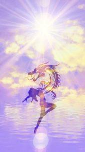 【運気上昇】龍神様のおまじない待ち受け画像、龍神様の背景画像、壁紙
