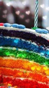 レインボーケーキの本当に効いた恋の待ち受け
