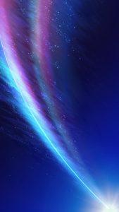 流れ星で運気を上げて願いが叶う待ち受け、背景画像