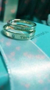 結婚できるティファニーの結婚指輪の待ち受け