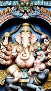 インドのガネーシャ像の待ち受け画像、背景画像