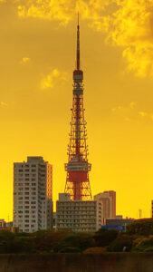 運気が上がる東京タワーの待受画像
